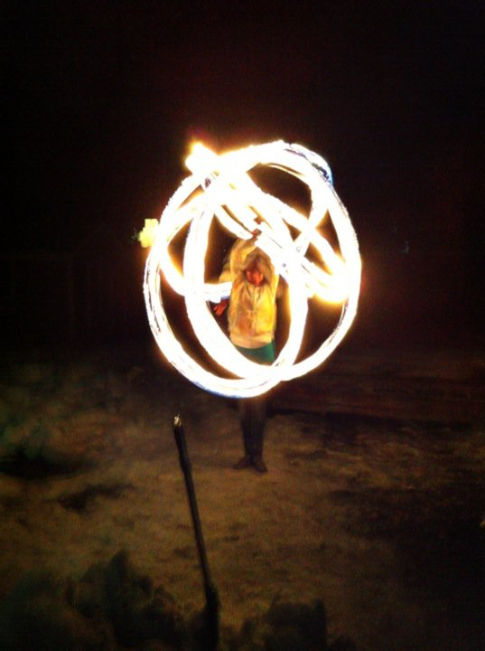 Fire Poi by Katelyn B
