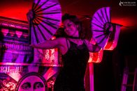 Folding Fans at Cirque de la Nuit: Lunari by Vindaloo