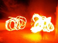Fire Fans and Poi by Lucy Maria