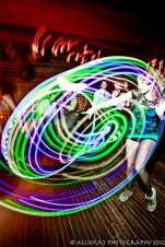 Glow Hoop at Electro Swing Club YYC - Max Pashm by AllieKat