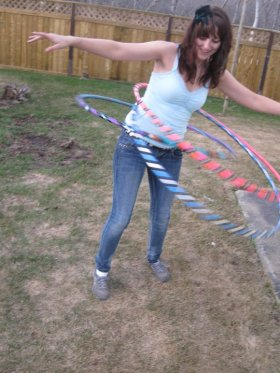 Multi Hooping by Katelyn Brown