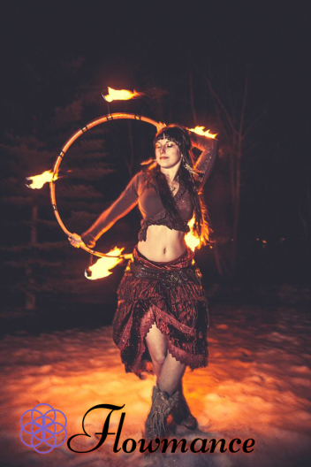 Fire Hoop by Third Eye Arts