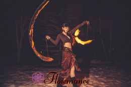 Fire Poi by Third Eye Arts