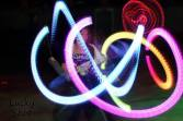 Glow Poi at SpinOut 2013 by Lucky Shot