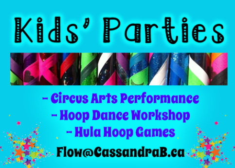 Kids Parties Ad